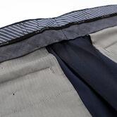 J.M. Haggar Houndstooth Suit Pant , Navy, hi-res