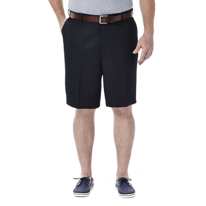 BIG & TALL Cool 18® Shorts, Navy open image in new window