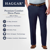 Big & Tall Premium Comfort Dress Pant, Black 6