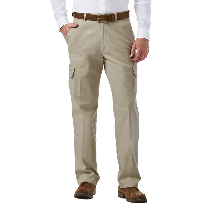 Big & Tall Stretch Comfort Cargo Pant, Putty open image in new window
