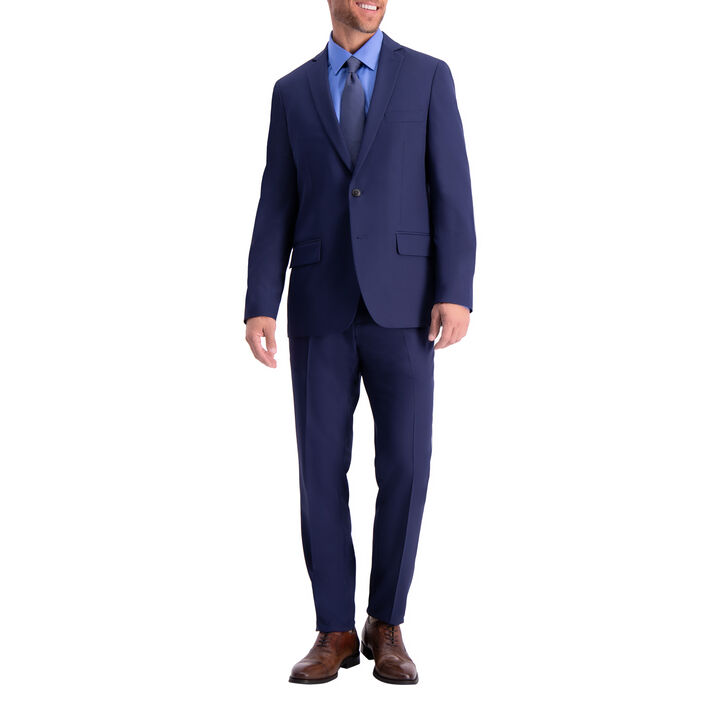The Active Series™ Herringbone Suit Jacket, Midnight, hi-res