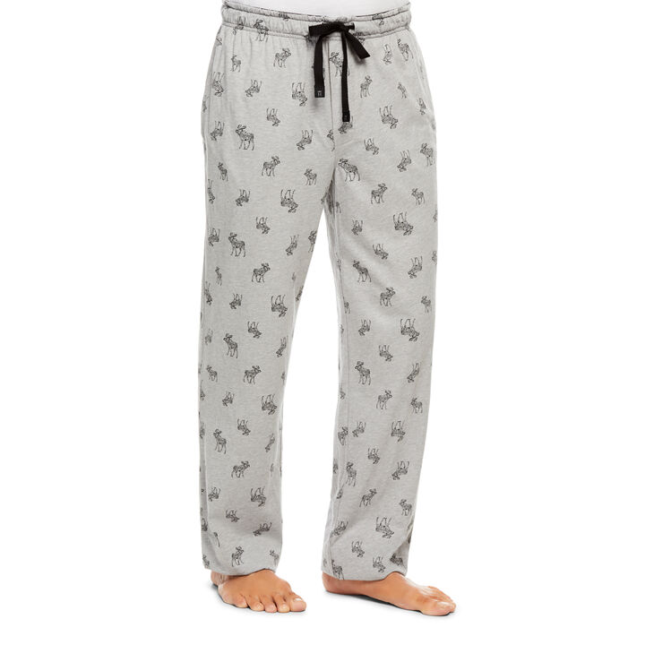 Jersey Sleep Pant, Medium Grey