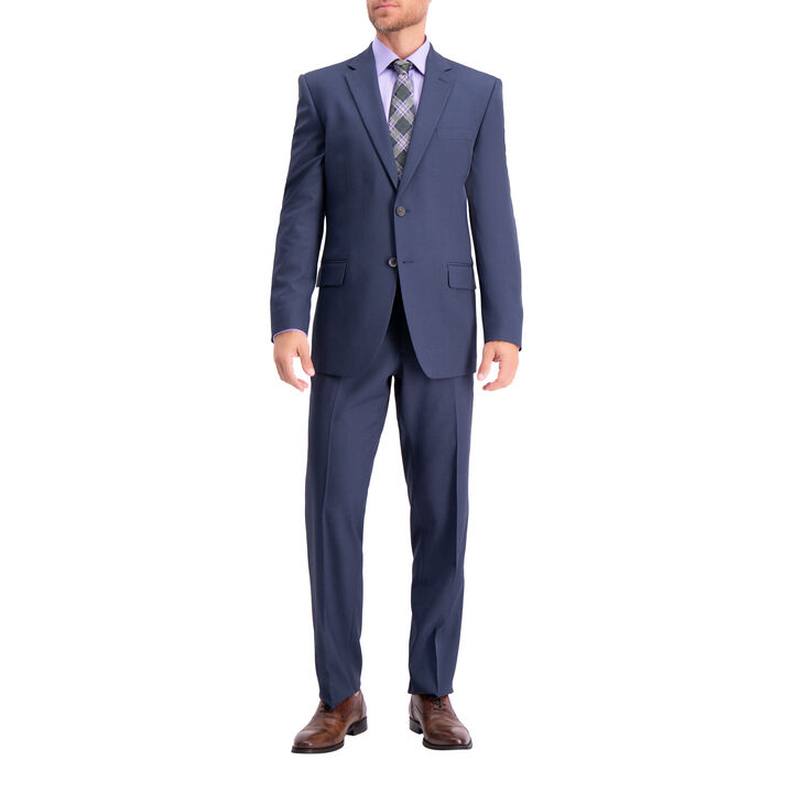 Travel Performance Suit Jacket, Navy, hi-res