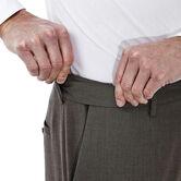 Premium Stretch Solid Dress Pant, Medium Brown 4