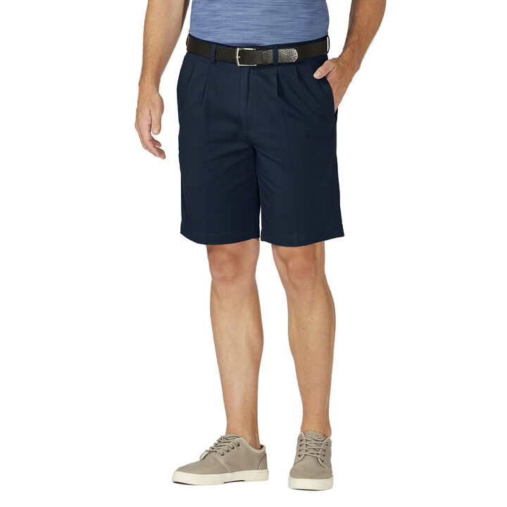 Stretch Chino Short, Navy open image in new window