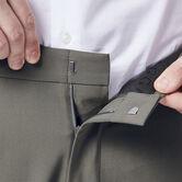 JM Haggar 4 Way Stretch Dress Pant, Medium Grey 4