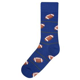 Football Sock, Navy