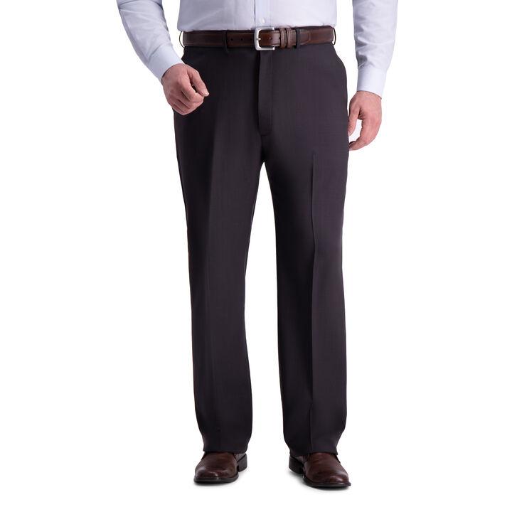 Big & Tall Premium Comfort Dress Pant, Black / Charcoal open image in new window