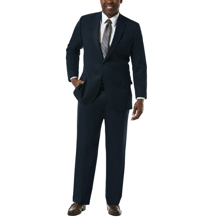 Big & Tall J.M. Haggar Premium Stretch Suit Jacket, Dark Navy, hi-res