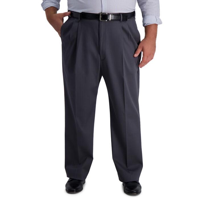 Big & Tall Iron Free Premium Khaki, Dark Grey