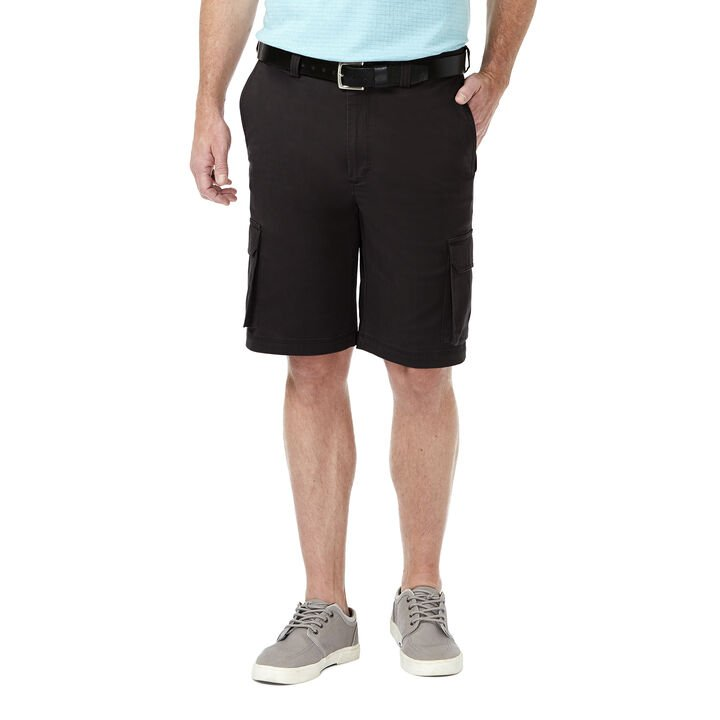 Stretch Cargo Short, Black