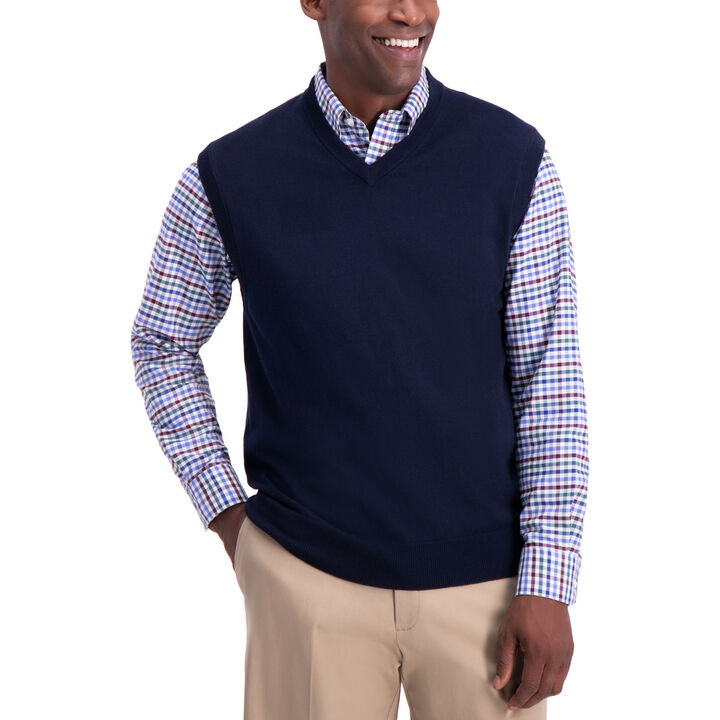 Sweater Vest, Navy