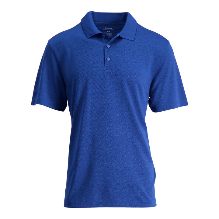 Cool 18® Pro Textured Golf Polo, Turquoise / Aqua