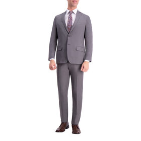 Active Series Heather Suit Jacket, Heather Grey