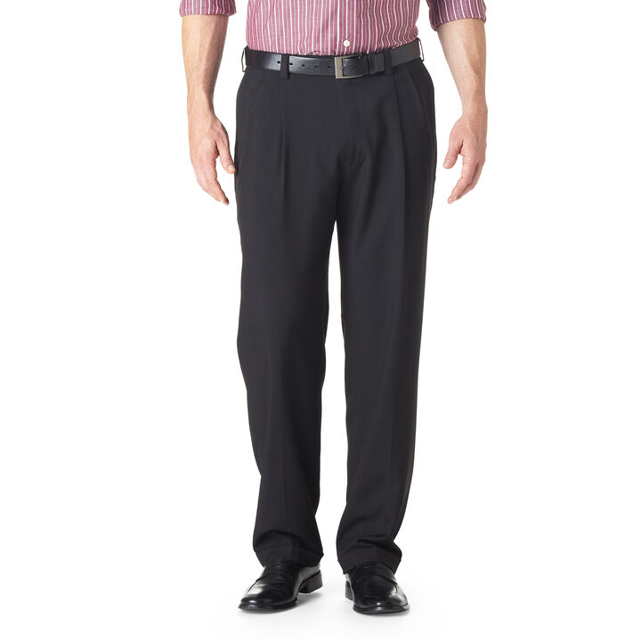 E-CLO™ Stria Dress Pant, Black open image in new window