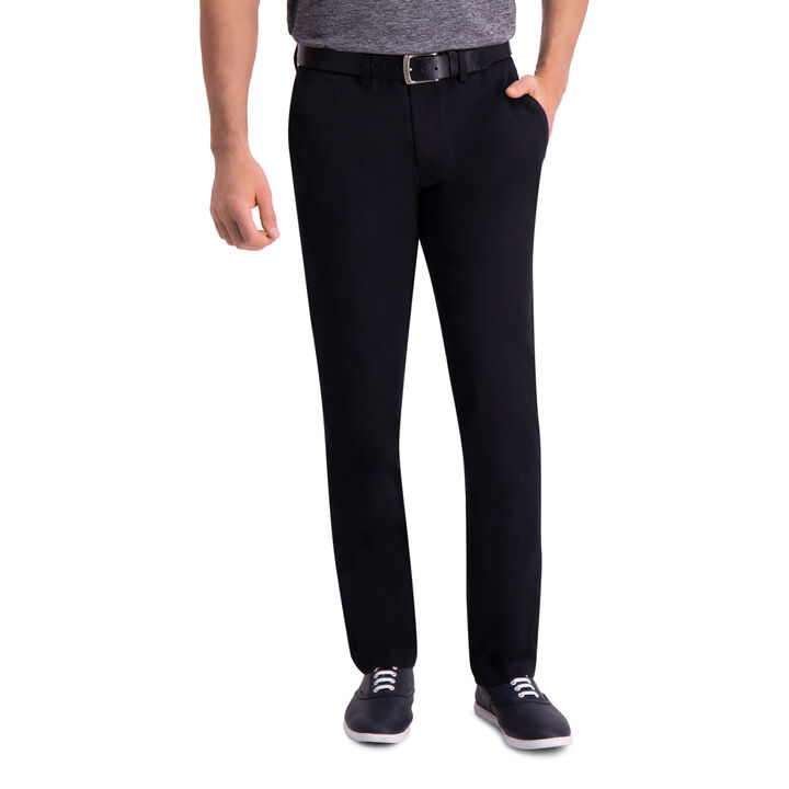 Premium Comfort Khaki Pant, Black open image in new window