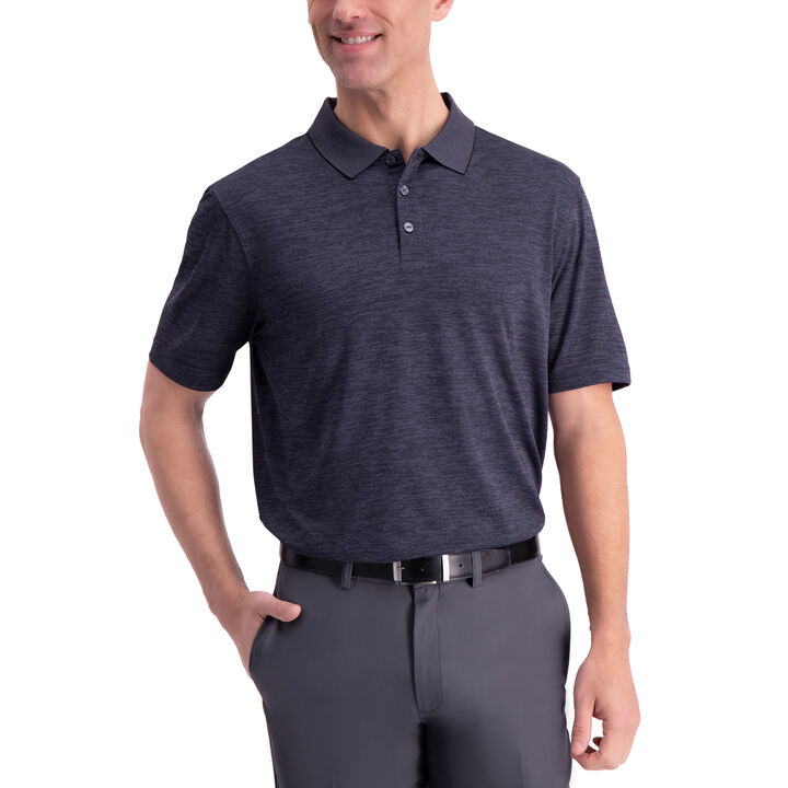 Honeycomb Golf Polo, Black