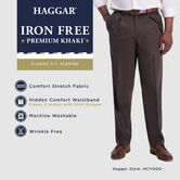 Iron Free Premium Khaki,  Medium Khaki 4