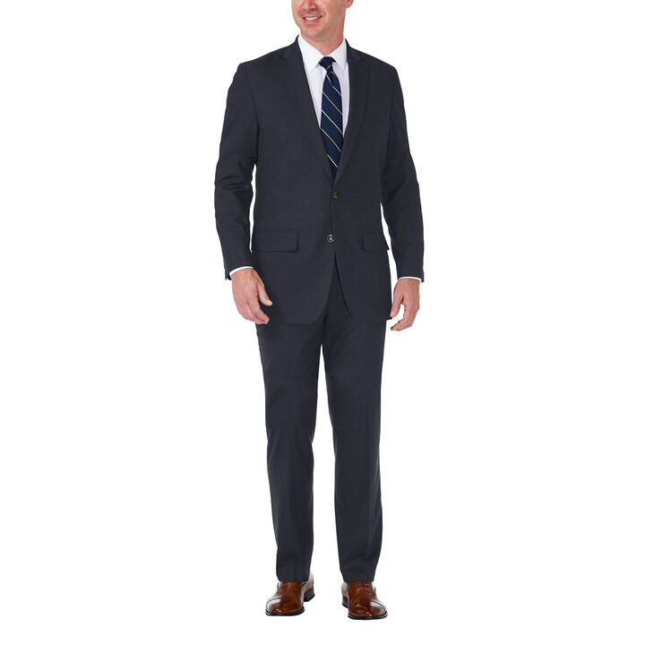 J.M. Haggar Premium Stretch Suit Jacket, Dark Navy, hi-res