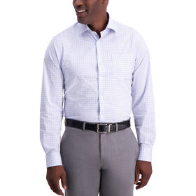 Graph Check Premium Comfort Dress Shirt, Sky