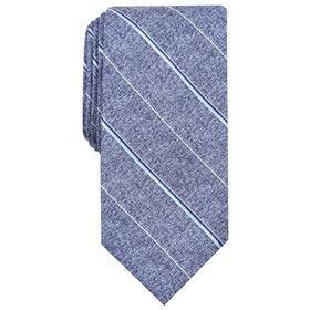 Striped Tie, Navy