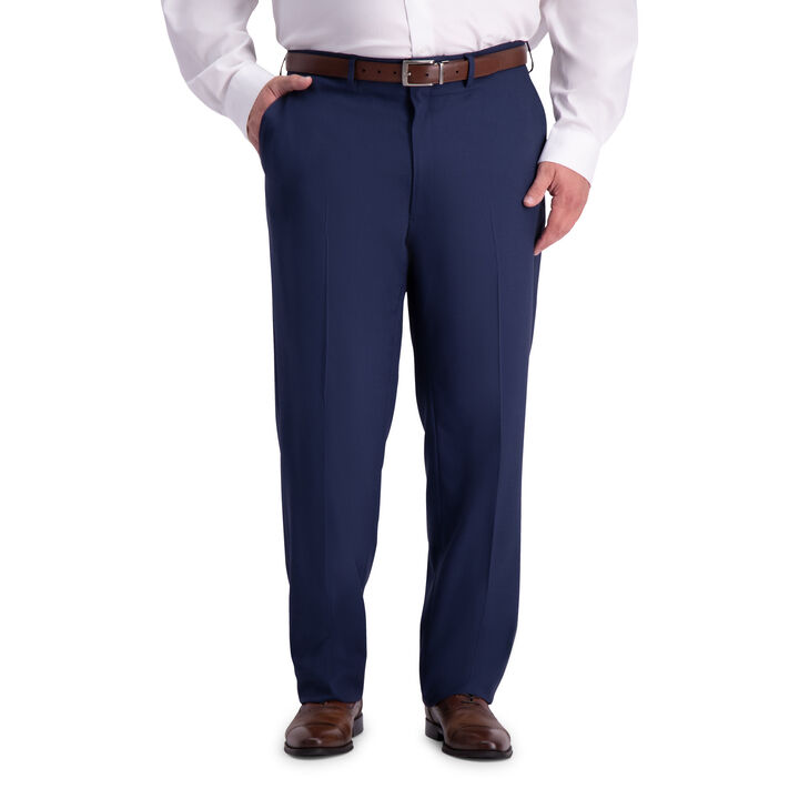 Big & Tall Travel Performance  Suit Pant, Blue