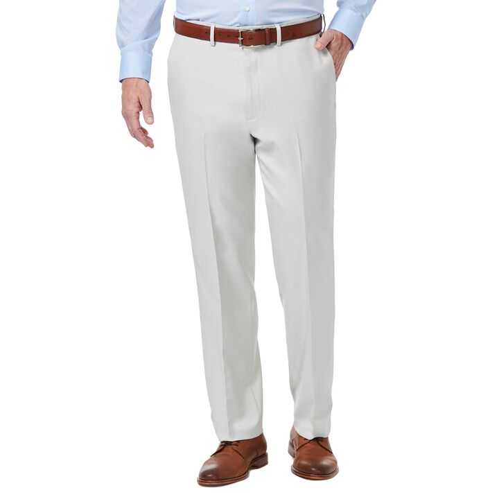 Premium Comfort Dress Pant, Stone open image in new window