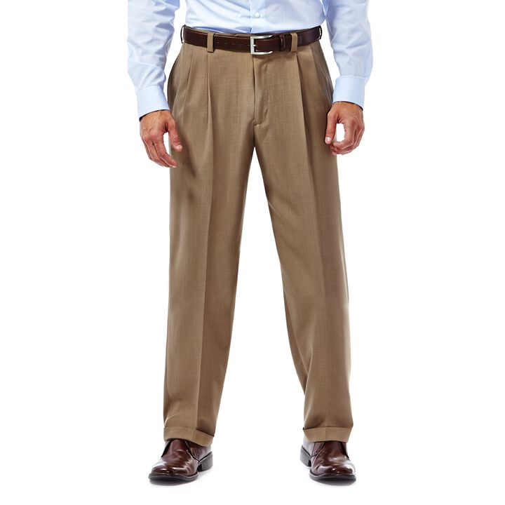 E-CLO™ Stria Dress Pant,  British Khaki