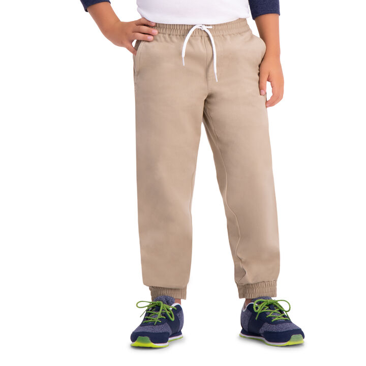 Boys Sustainable Jogger (8-20), Khaki open image in new window
