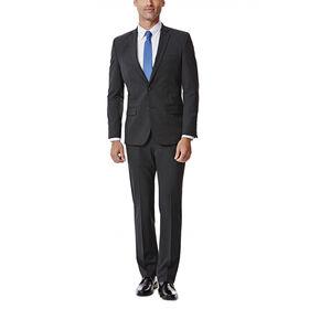 JM Haggar Slim 4 Way Stretch Suit Jacket, Charcoal Heather