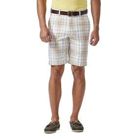 Cool 18® Pro Tonal Plaid Short, Stone