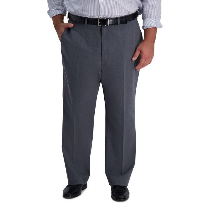 Big & Tall Iron Free Premium Khaki, Charcoal Heather