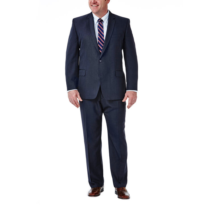 Big & Tall Travel Performance Suit Separates Jacket, Navy, hi-res