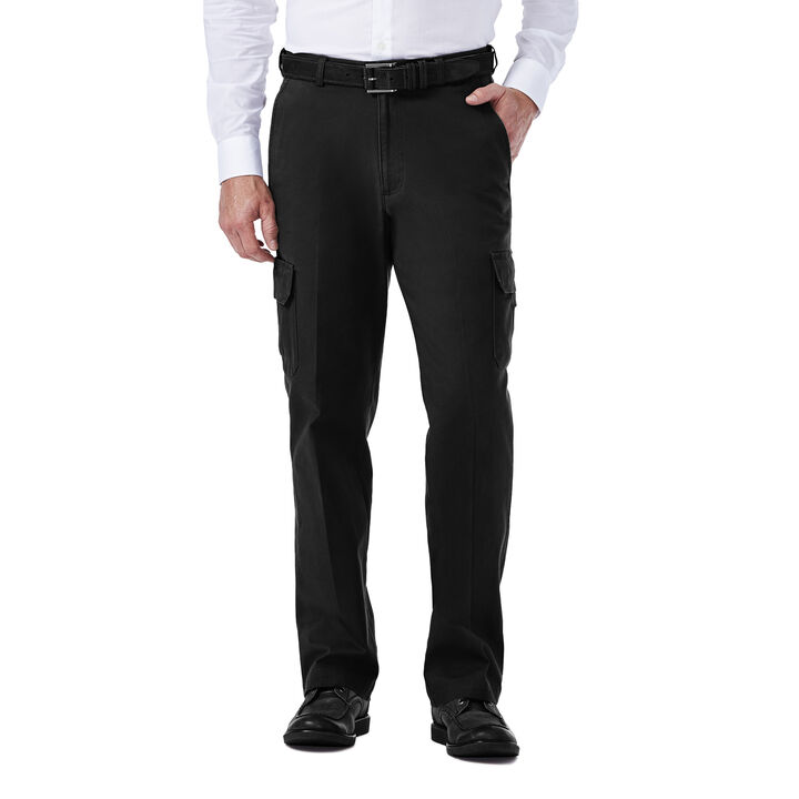 Stretch Comfort Cargo Pant, Black