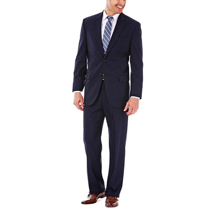 J.M. Haggar Premium Stretch Suit Jacket, Dark Navy