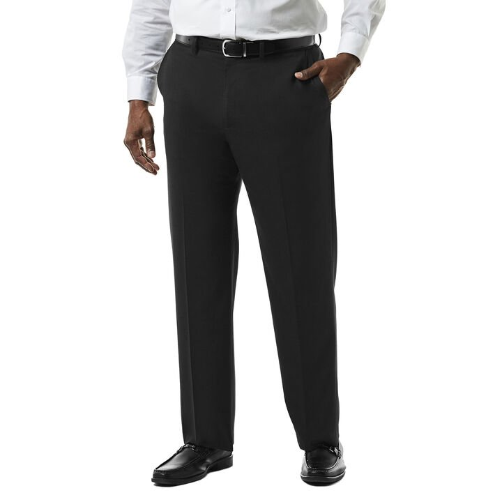 Big & Tall J.M. Haggar Premium Stretch Suit Pant - Flat Front,  open image in new window