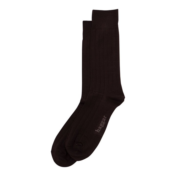 Dress Socks - Solid Ribbed,