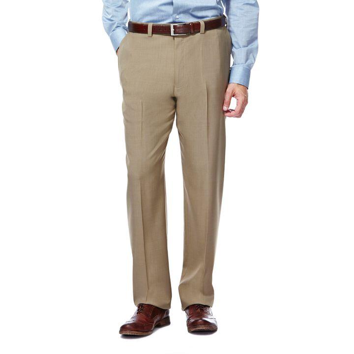 E-CLO™ Stria Dress Pant,  Taupe