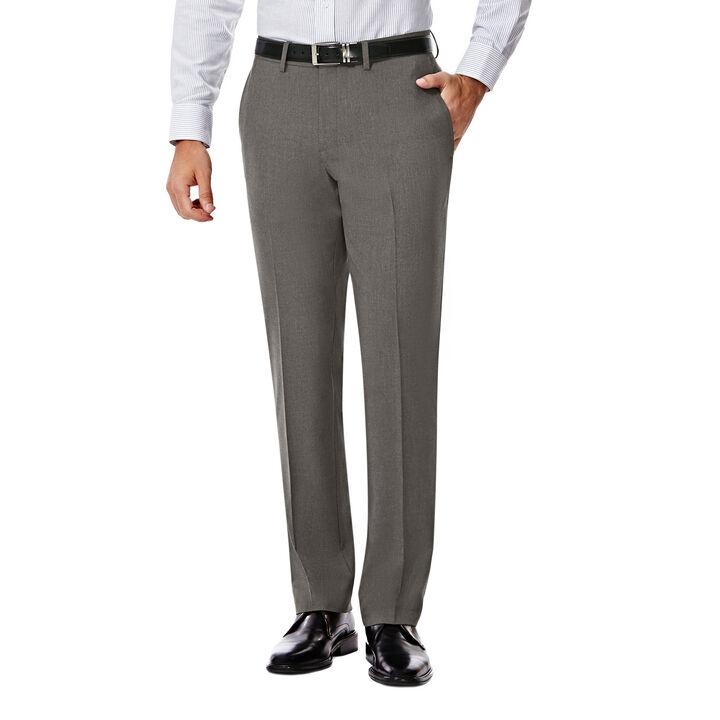 JM Haggar Slim 4 Way Stretch Suit Pant, Grey open image in new window