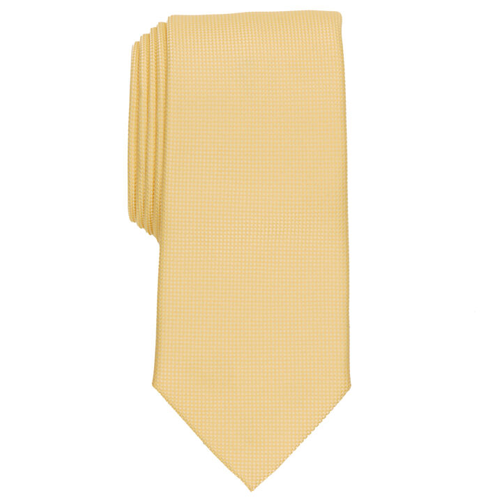Oxford Solid Tie, Yellow