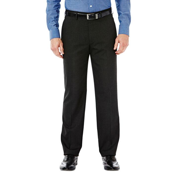 J.M. Haggar Premium Stretch Dress Slack, Black / Charcoal