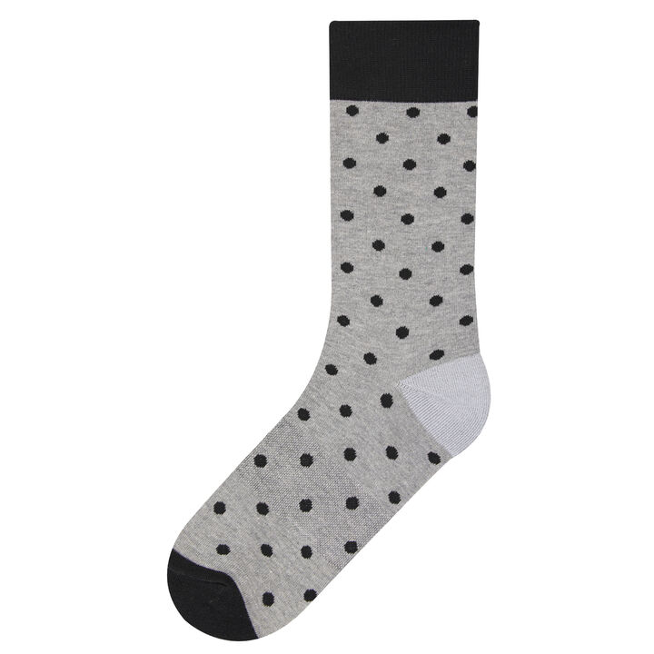 Blue Dot Socks,