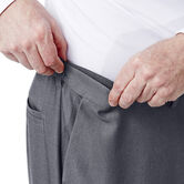 Big & Tall Cool 18® Heather Solid Pant, Graphite 4