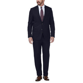 J.M. Haggar Dobby Suit Jacket, Navy