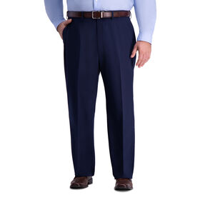 Big & Tall J.M. Haggar 4-Way Stretch Suit Pant, Blue