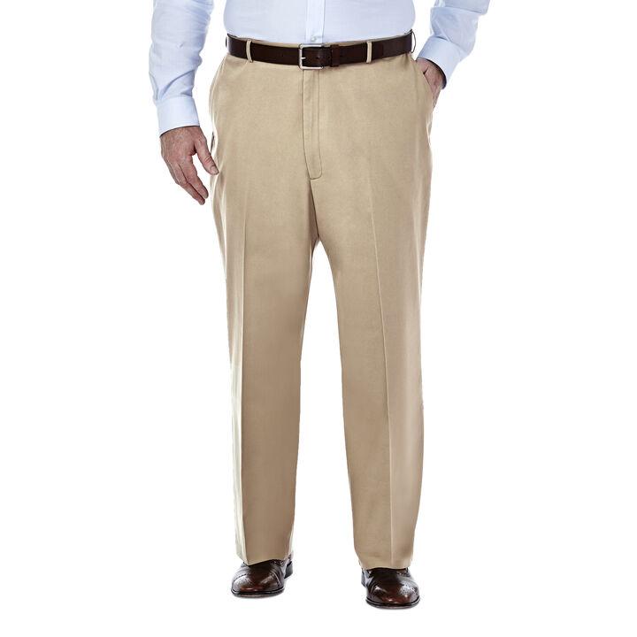 Big & Tall Premium No Iron Khaki, Khaki