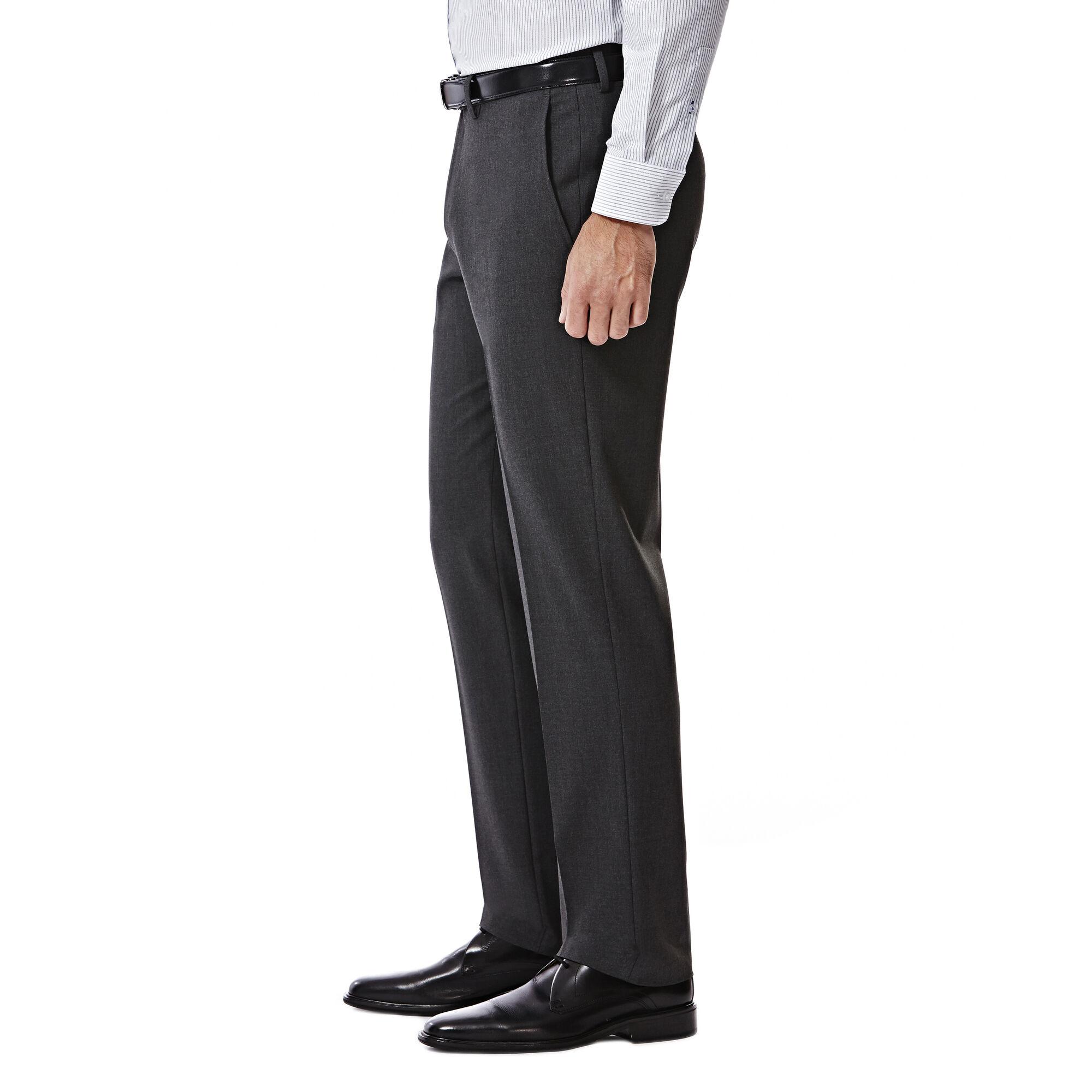 Haggar Mens 4-Way Stretch Solid Gab Slim Fit Suit Separate Coat J.M