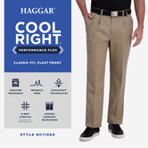 Cool Right® Performance Flex Pant, Brown Heather 5