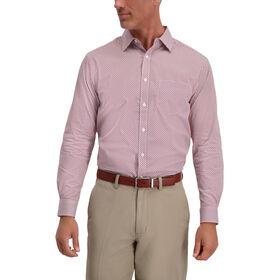 Multi Color Plaid Shirt, Aubergine