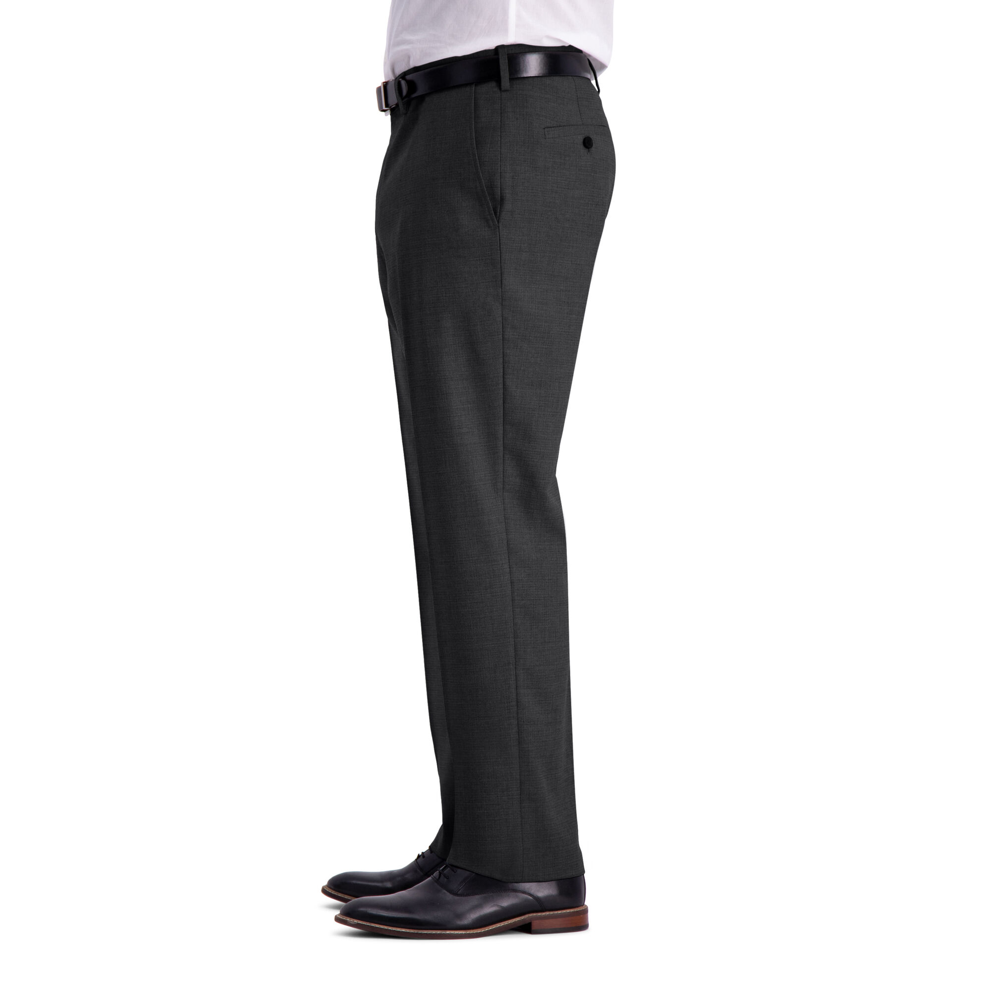 J.M Haggar Mens Texture Weave Stretch Classic Fit Suit Separate Coat